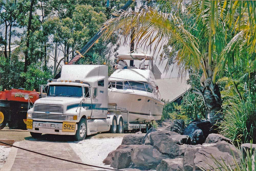 Large Boat Transport