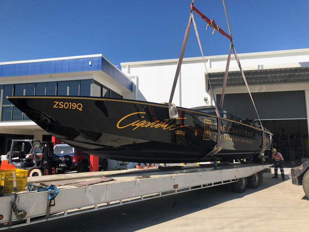 Race Boat Transport